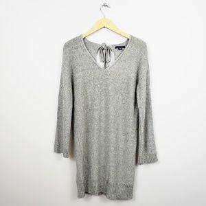 🆕️ American Eagle Grey Vneck Sweater Dress/Tunic
